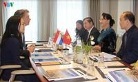 Aktivitas-aktivitas Ketua MN Vietnam, Nguyen Thi Kim Ngan di Belanda