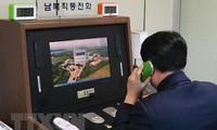 Dua bagian negeri Korea membahas masalah hubungan hotline antara pimpinan dua negara