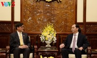 Presiden Vietnam, Tran Dai Quang menerima Dubes Thailand sehubungan dengan akhir masa baktinya di Vietnam