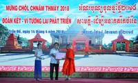"Warga etnis minoritas Khmer menyambut Hari Raya Tet Chol Chnam Thmay ""Bersatu – Demi perkembangan masa depan"""