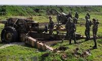 Banyak pangkalan militer Suriah diserang dengan rudal