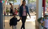 Sekolah yang berstandar internasional untuk anak-anak kaum buruh miskin di Kota Da Nang