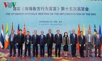 Sidang ke-15 para pejabat senior ASEAN-Tiongkok tentang pelaksanaan DOC