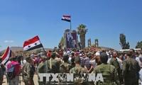 Tentara Suriah membebaskan banyak provinsi di Suriah Selatan