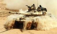 Tentara Suriah mencapai kemajuan di Sweida