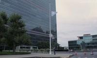 Markas Besar PBB di Jenewa memasang bendera setengah tiang untuk mengenangkan Kofi Annan