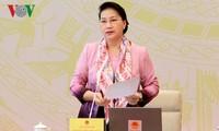 Ketua MN Viet Nam, Ibu Nguyen Thi Kim Ngan menghadiri Konferensi anggota MN full-timer