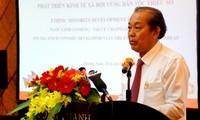 Mendorong pengembangan daerah pemukiman warga etnis minoritas dan daerah pegunungan tahap pasca tahun 2020