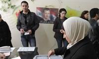 Suriah melakukan pemilihan di daerah untuk pertama kalinya sejak tahun 2011