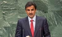 Raja Qatar mencela perintah blokade dari negara-negara Arab di kawasan Teluk