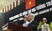 Upacara pemakaman Presiden Tran Dai Quang berlangsung secara khitmad