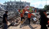 Gempa dan tsunami di Indonesia: Berlomba dengan waktu untuk menolong para korban