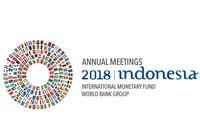 Pembukaan konferensi tahunan IMF dan WB di Indonesia
