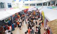 Mahasiswa dari 14 perguruan tinggi dan akademi menghadiri Festival Aksara Korea tahun 2018