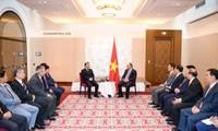 Aktivitas PM Nguyen Xuan Phuc dalam rangka kunjungan resmi di Austria