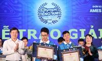 Babak final Sayembara Olimpiade bahasa Inggris nasional di kalangan pelajar dan mahasiswa tahun 2018