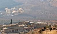 Tentara Turki melakukan serangan dengan meriam terhadap kawasan pemukiman orang Kurdi di Suriah