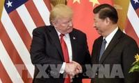 """Presiden Donald Trump menegaskan bahwa pembicaraan telepon dengan Presiden Tiongkok """"berlangsung secara sangat baik"""""""