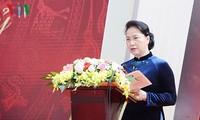Ketua MN Viet Nam, Ibu Nguyen Thi Kim Ngan menghadiri acara peringatan ultah ke-110 Berdirinya SMA Buoi – Chu Van An