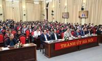 Pembukaan Konferensi nasional pejabat tentang usaha belajar dan mencengkam Resolusi Sidang Pleno ke-8 PKV angkatna XII