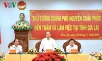 PM Viet Nam, Nguyen Xuan Phuc melakukan temu kerja dengan Provinsi Gia Lai