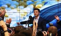 Pilpres Ukraina: Pemimpin negara-negara di dunia mengucapkan selamat kepada Volodymyr Zelensky