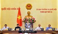 Pembukaan persidangan ke-34 Komite Tetap MN Vietnam