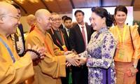Vietnam menilai tinggi nilai-nilai moral baik dari agama-agama, di antaranya ada agama Buddha