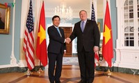 Deputi PM, Menlu Vietnam, Pham Binh Minh melakukan kunjungan resmi di AS