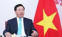 Deputi PM, Menlu Pham Binh Minh dan para pemimpin Asia menghadiri Forum Masa Depan Asia di Jepang