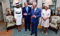 Presiden AS, Donald Trump melakukan kunjungan di Kerajaan Inggris
