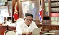 Presiden AS mengirim surat pribadi kepada Pemimpin RDRK, Kim Jong-un