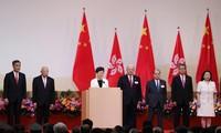Tiongkok: Hong Kong mengadakan upacara bendera sehubungan dengan peringatan ultah ke-22 berdirinya Zona Administrasi Istimewa Hong Kong