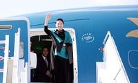 Ketua MN Vietnam, Ibu Nguyen Thi Kim Ngan melakukan kunjungan resmi ke Republik Rakyat Tiongkok