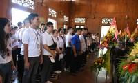 Perkemahan musim panas Vietnam tahun 2019: Para pemuda diaspora Vietnam mengunjungi kampung halaman Presiden Ho Chi Minh