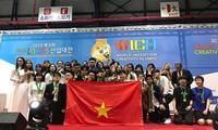 Pelajar Vietnam meraih Medali Emas dalam Olimpiade Invensi dan Paten Dunia