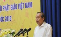 Vietnam selalu menghormati dan menciptakan syarat untuk menjamin hak kebebasan berkepercayaan dan beragama