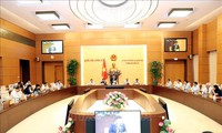 Acara pembukaan persidangan ke-36 Komite Tetap MN Vietnam angkatan XIV