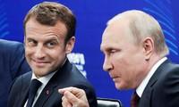 Perancis dan Rusia merasa optimis secara hati-hati tentang situasi Ukraina