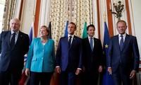 Para pemimpin G7 mendapat kebulatan pandangan tentang masalah nuklir Iran, tapi mengalami perselisihan tentang masalah Rusia