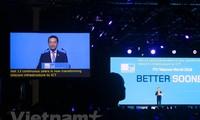 Vietnam menghadiri Pameran Telekomunikasi Dunia tahun 2019 di Hungaria