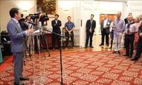 """Kedutaan Besar Vietnam di AS dan Institut NFI mengadakan """"Temu pergaulan hasil perikanan dan perdagangan"""""""