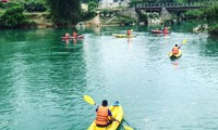 Menghayati sungai dan gunung di Provinsi Cao Bang bagian timur