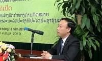 Akademi Hukum Vietnam Turut Meningkatkan Kemampuan Barisan Petugas Hukum Laos