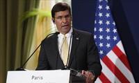 Menhan AS Mengimbau kepada Pemimpin RDRK supaya Mengekang Diri