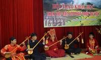 """Lokakarya dengan tema Lagu Rakyat """"Then"""" Viet Bac  dengan perkembangan pariwisata"""