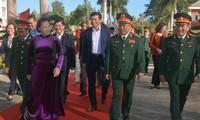Ketua MN Vietnam, Nguyen Thi Kim Ngan Berkunjung dan Menyampaikan Ucapan Selamat Hari Raya Tet kepada Markas Komando Militer Provinsi Dak Lak