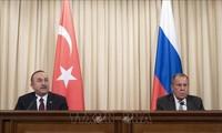 Rusia dan Turki membahas situasi Suriah