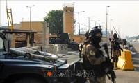 Banyak roket ditembakkan pada kawasan di dekat Kedutaan Besar AS di Irak