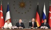 Pemimpin Rusia, Perancis dan Jerman melakukan pembicaraan telepon tentang situasi Suriah